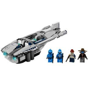 Lego Star Wars Set #8128 Cad Banes Speeder. I really liked the figures and speeder in this particular set