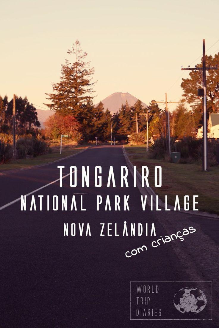 Um destino maravilhoso, uma vila cercada pelas montanhas Tongariro, Ruapehu e Ngauruhoe, esse paraíso dos esquiadores é também um maravilhoso lugar para férias em familia!