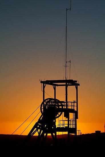 Poppet Head - Broken Hill