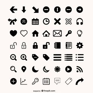 more than  utility icon vector material