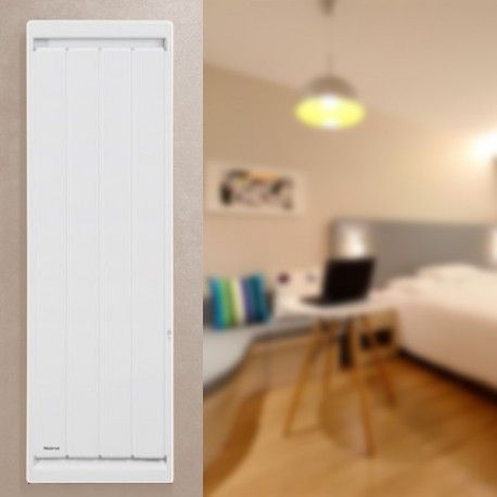 Radiateur connecté Calidou Smart ECOControl Blanc - Vertical