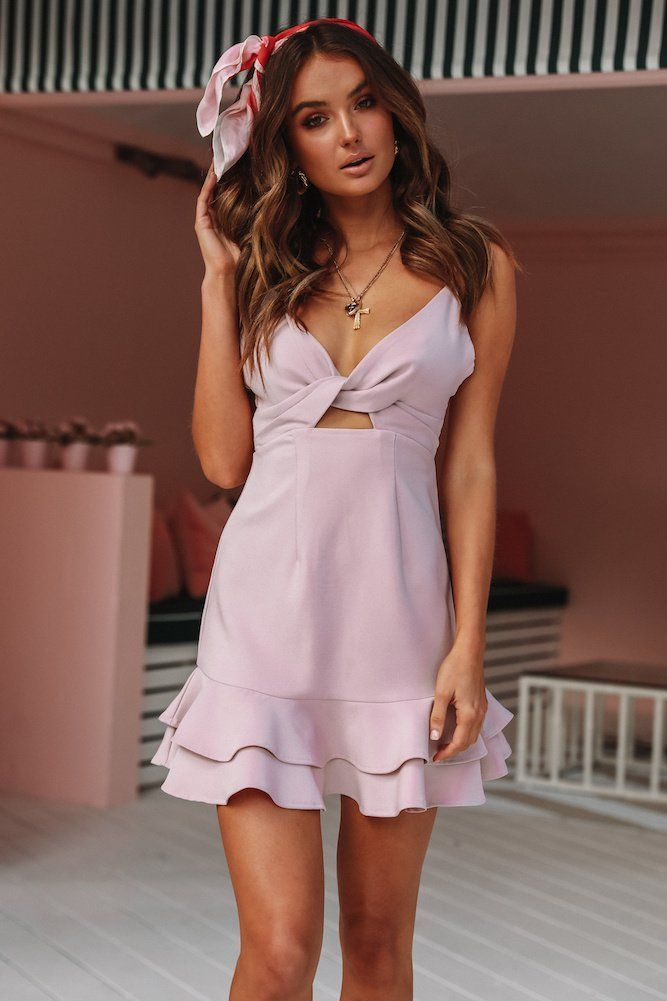 781277eff2 Take It Out Dress Mauve