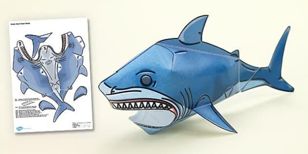 картинки акула схемы из бумаги евгения