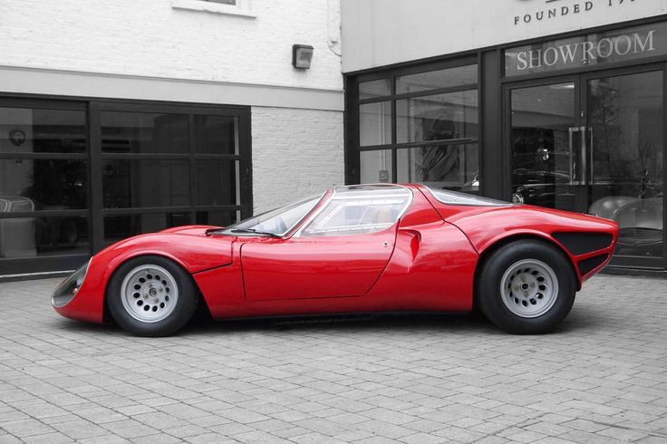 1967 Alfa Romeo Tipo 33 Stradale Continuation