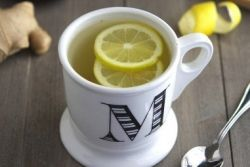 honey lemon and ginger tea