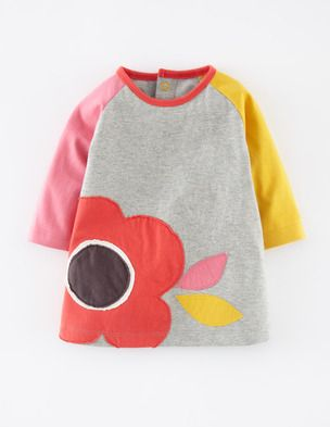 Fun Appliqué Play Dress, $38