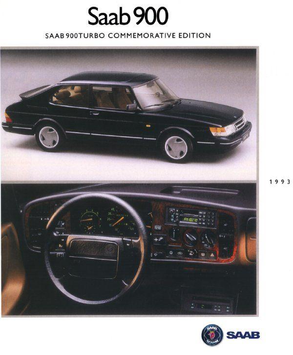 Saab 900 Turbo Commemorative Edition   1993