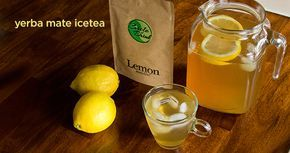 How to Make Cold Brewed Yerba Mate Tea #yerbamate #circleofdrink #icedtea #tea #organic #herbs #drink