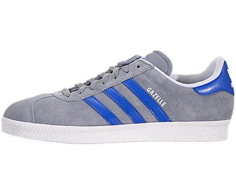 Adidas Men's Casual Shoes Gazelle 2 Stone/White/Bluebird