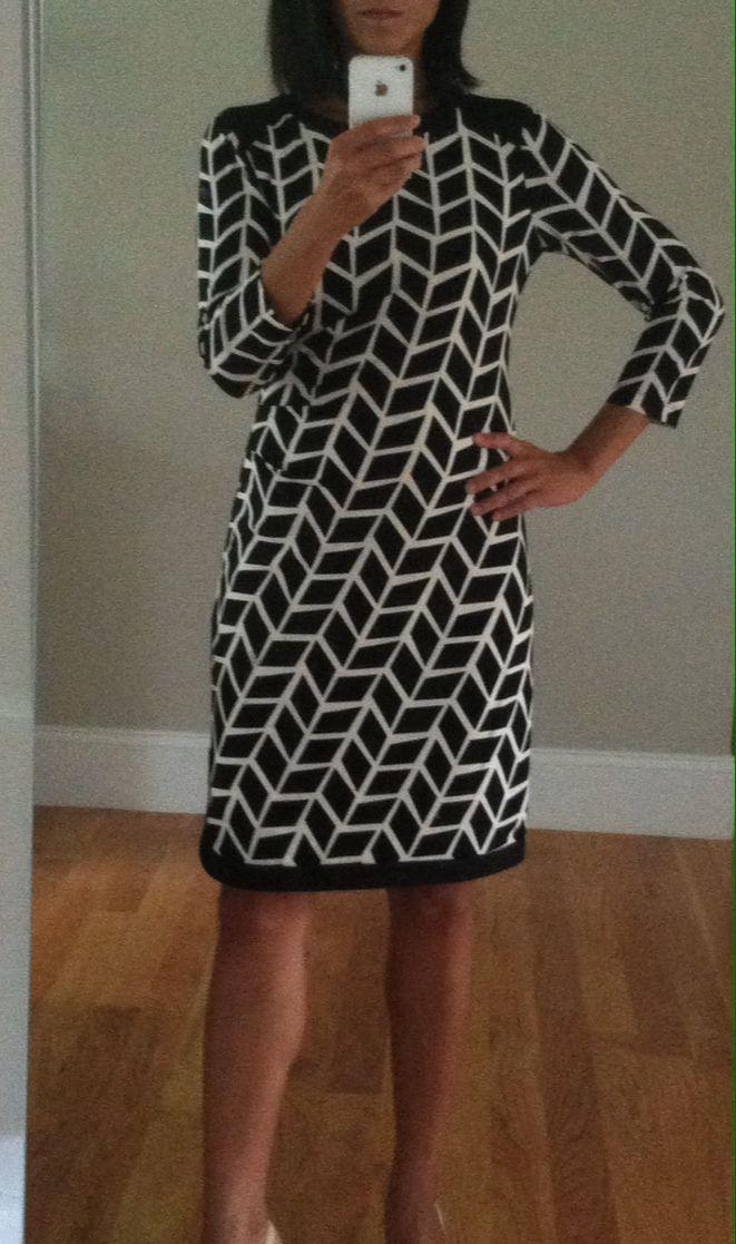 own fix and help me get more clothes: https://www.stitchfix.com/referral/3590654 Fix #12 Donna Morgan Eli Gathered Waist Dress
