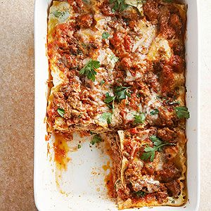 Best 25 lasagna bolognese ideas on pinterest authentic lasagna recipe italian lasagna and for Better homes and gardens lasagna