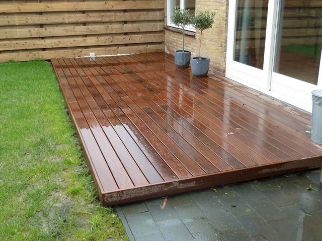 17 beste idee n over houten terras op pinterest houten dek ontwerpen tuinoverkapping - Bedek een houten terras ...