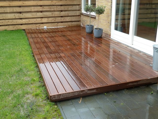 17 beste idee n over houten terras op pinterest houten dek ontwerpen tuinoverkapping - Terras hout ...