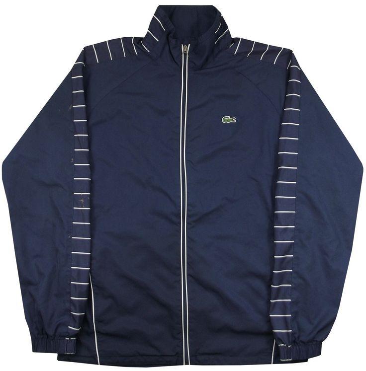 Image of Lacoste Tracksuit Jacket Size Large