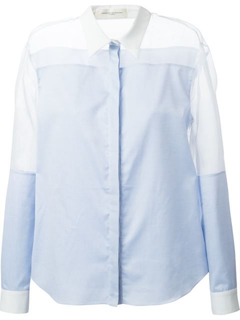 Aquilano.rimondi Sheer Panel Shirt - Dante 5 Women - Farfetch.com