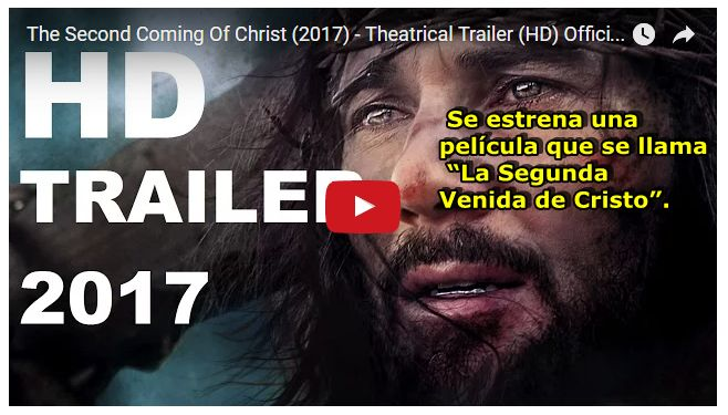 """En el transcurso de este 2017, se espera que se estrene la película """"La Segunda Venida de Cristo"""", que ya está siendo aclamada por los críticos de cine en todas partes."""