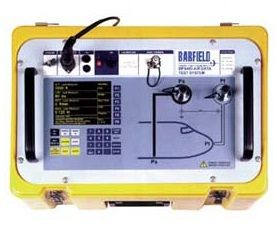 The Barfield DPS-450 completes a full line of Barfield Digital Pitot-Static/Air Data testers.