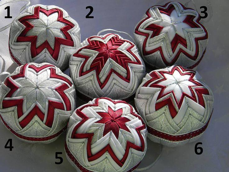 Vianočné ozdoby 62 - 8cm / Anikas - SAShE.sk - Handmade Dekorácie