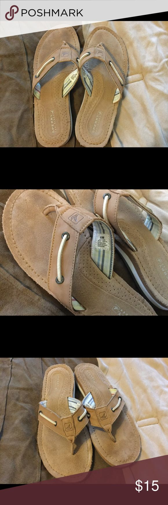 Sperry Sandals women's 6 I bought these new and only wore them for our two week vacation. Great used condition. Sperry Shoes Sandals