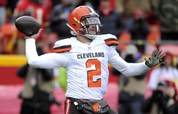 The MMQB's Peter King is reporting that the Cleveland Browns will move on from quarterback Johnny Manziel.