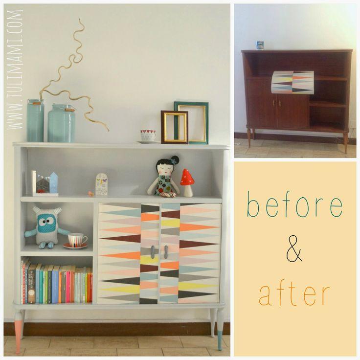 Before&after: la vecchia libreria della nonna
