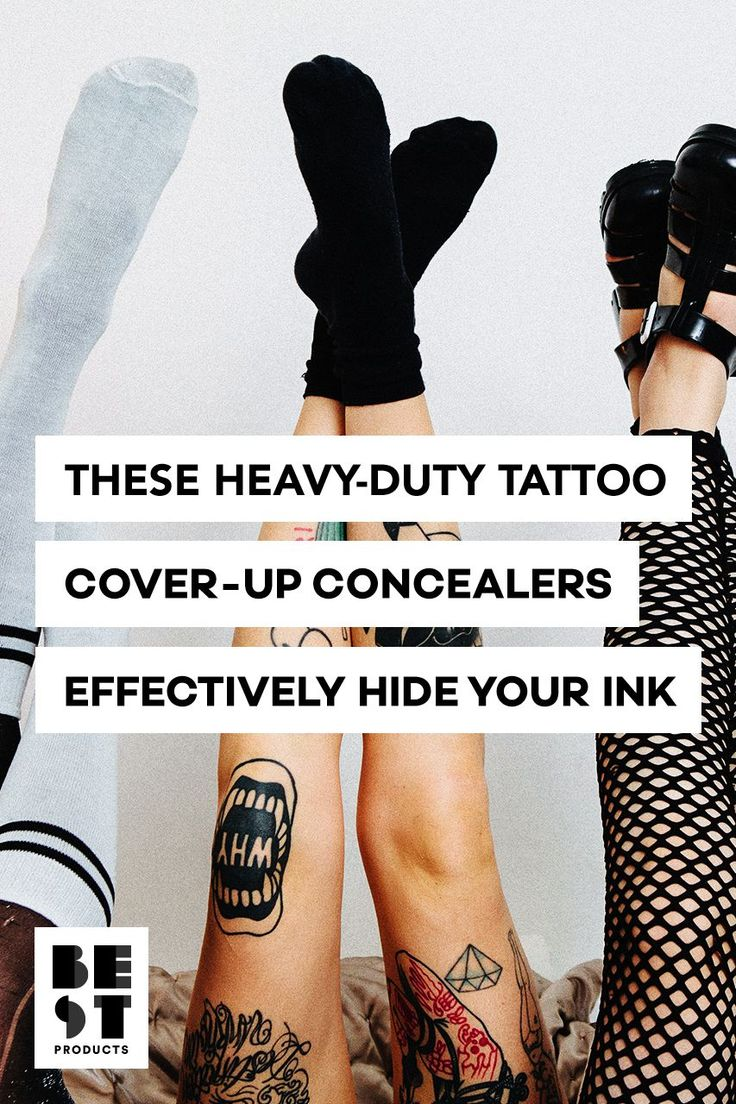 Tatjacket Tattoo Cover Up Liquid Concealer Cover tattoo