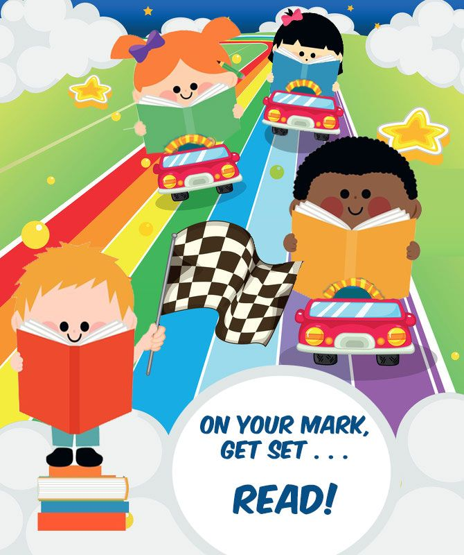 Library Summer Reading Program Songs: On Your Mark, Get Set ... Read! 2016 #libraries #summerreading