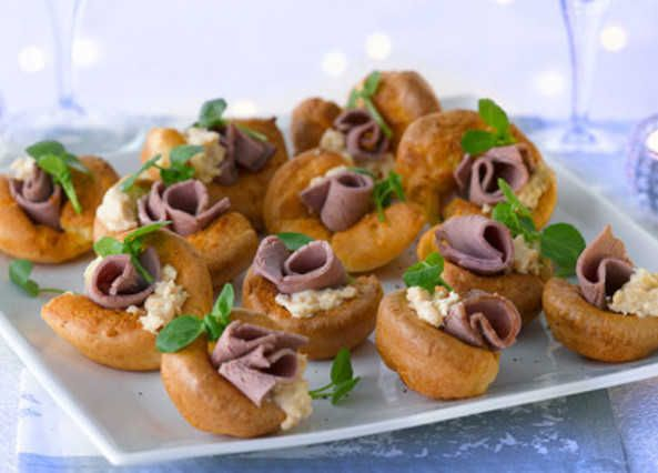 53 best inspired yorkshire pudding fillings images on for Canape fillings