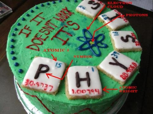 13 Best Physics Cake Images On Pinterest Physical