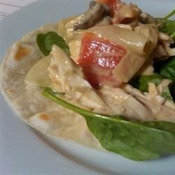 Take-Out Fake-Out Pollo Con Crema    (try this with dijon mustard like had at mexican restaurant instead of ketchup)