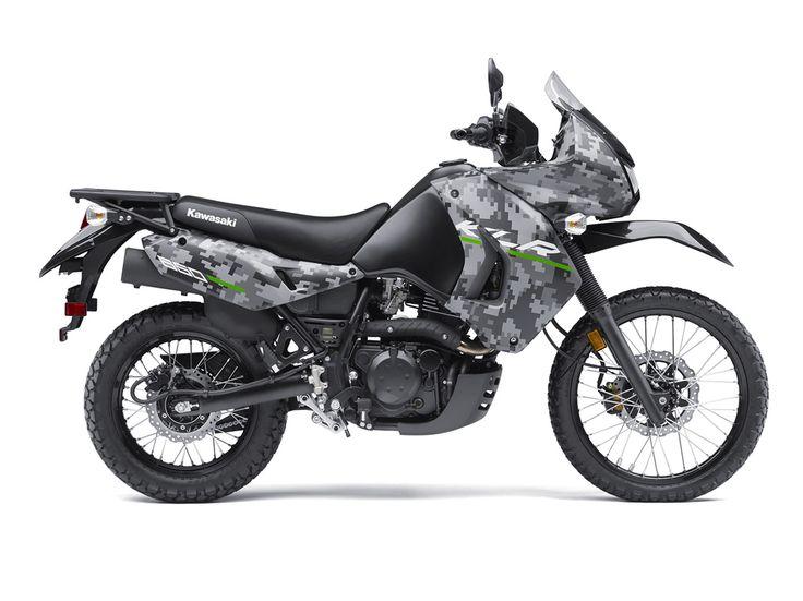 Check out the Kawasaki 2016 KLR™650 CAMO