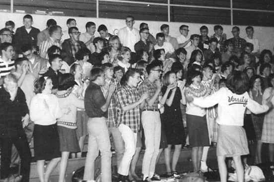 1967 Newark Pep rally