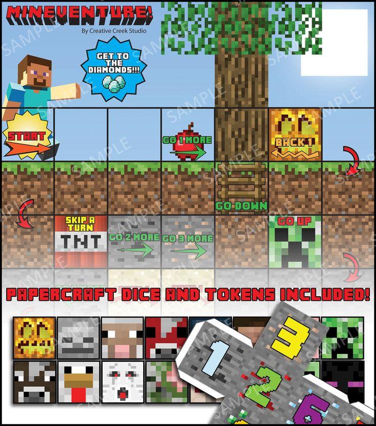 interesting minecraft board game - photo #7