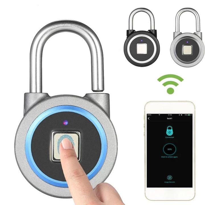 BT Smart Keyless Fingerprint Lock