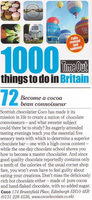 Time Out - 1000 things to do in Britain by Coco Chocolate, via Flickr