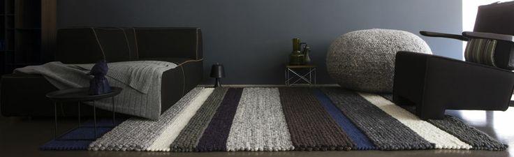 Wollen karpet structuren mix  www.van-zeben.nl