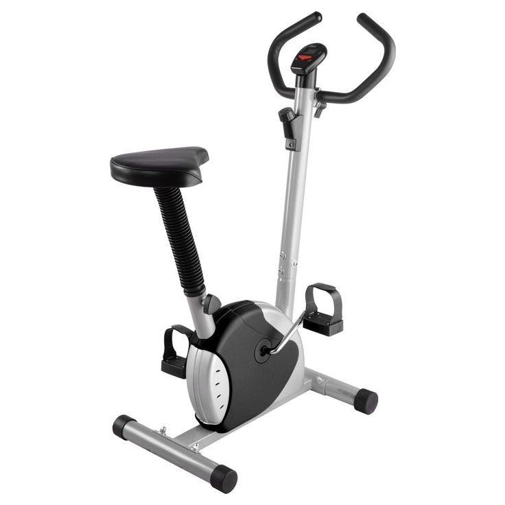 ReaseJoy Exercise Bike Fintess Cycling Machine Home Personal Gym Cardio Aerobic Equipment Black. It's very suitable for people exercise at home when you watch TV or listen music. It's great for Leisure Exercise. Moderate resistance, play effect of exercise, but not very hard. Multi resistance adjustment; Seat vertical adjustable system. Computer for scan, time, speed, distance, calories.