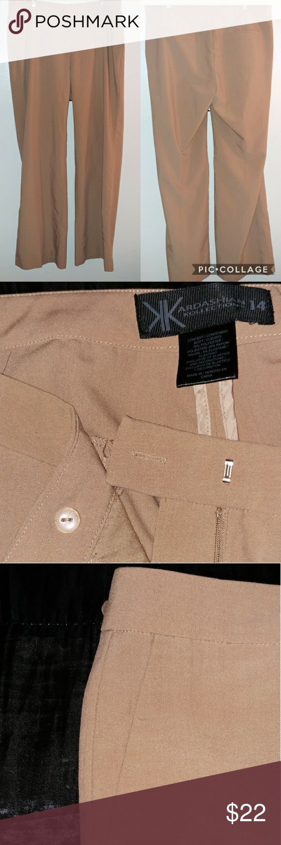 Kardashian Kollection Wide Leg Pant Kardashian Kollection Wide Leg Pant Two Pockets Two way closure 75% Polyester Kardashian Kollection Pants Wide Leg