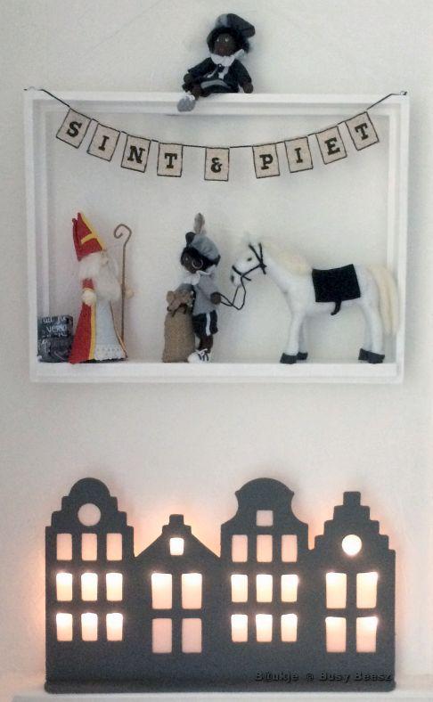 Sinterklaas - 5 december #sint #piet #vilt