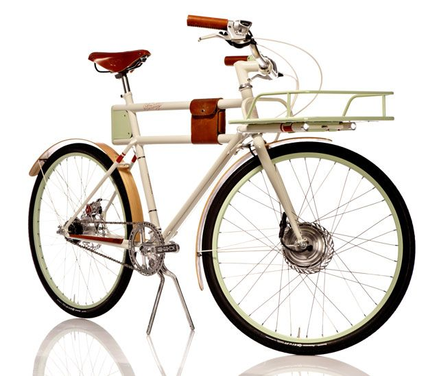 The Faraday Porteur Electric Bicycle - a beautiful Kickstarter project