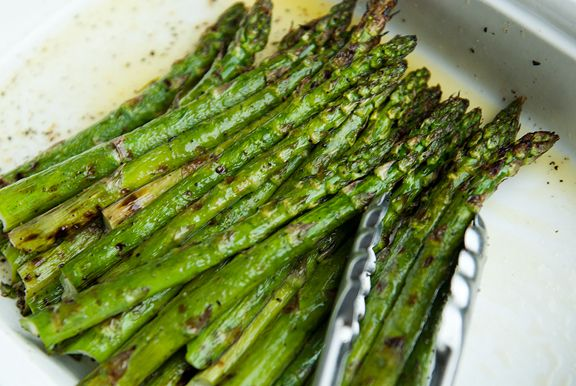 grilled asparagus | The Recipe Box | Pinterest