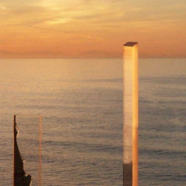 Helena Bertaud#Perception#horizons#sunset#observatoire#couverture de survie#océan Atlantique