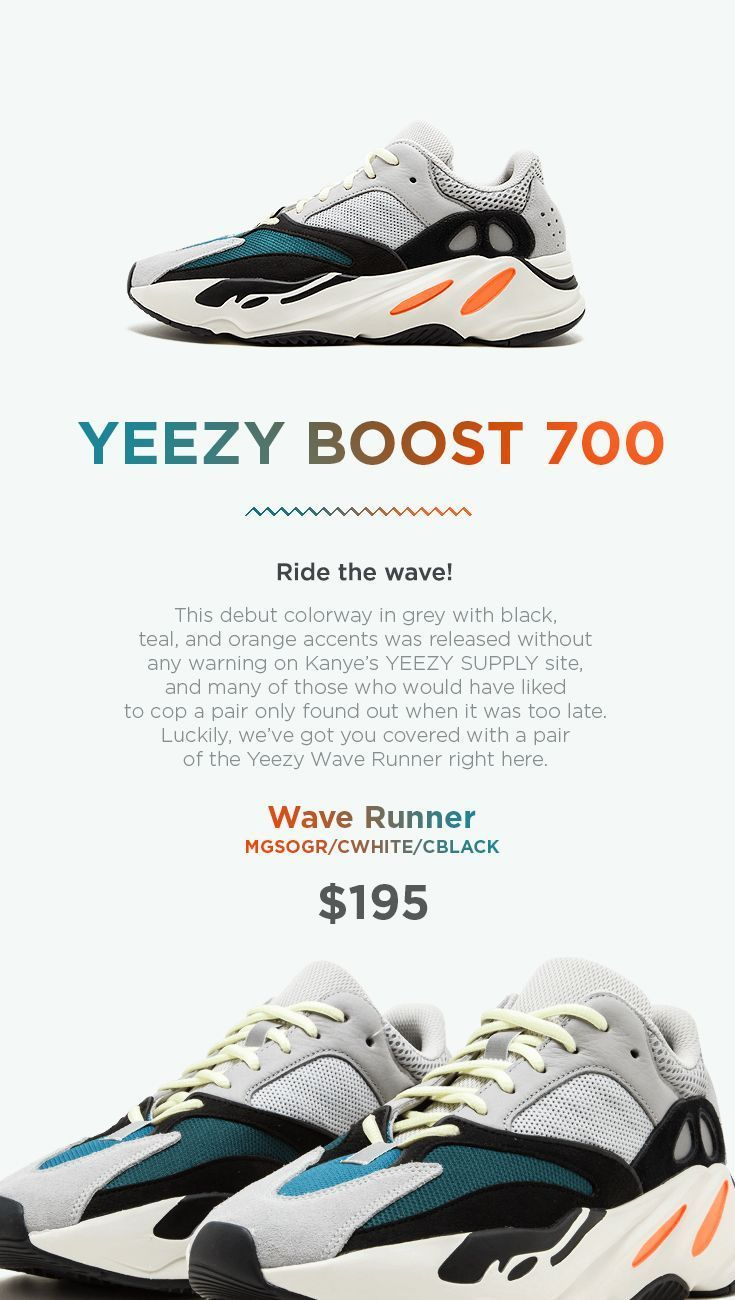 the best attitude 84e4e 9fc46 Adidas Yeezy Boost 700 - Wave Runner on Yeezy.direct This ...