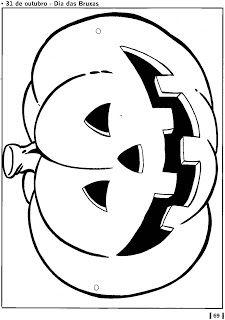 Máscara de abóbora! - ESPAÇO EDUCAR