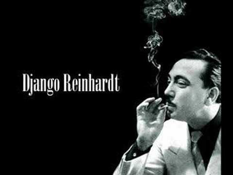 Django Reinhardt (23 January 1910 – 16 May 1953) was a pioneering virtuoso jazz guitarist and composer. Django Reinhardt is often regarded as one of the greatest guitar players of all time and regarded as the first important European jazz musician who made major contributions to the development of the idiom. Reinhardt invented an entirely new style of jazz guitar technique.