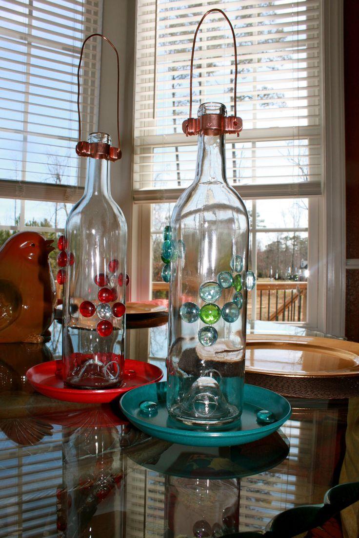 25 best ideas about recycled wine bottles on pinterest. Black Bedroom Furniture Sets. Home Design Ideas