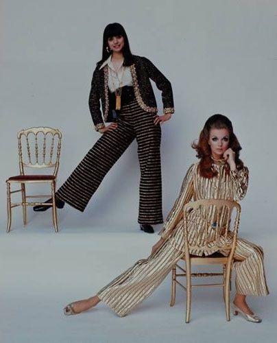 В 1960-е годы брюки окончательно вошли в моду и стали частью женского гардероба