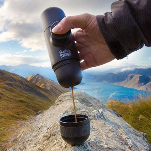 Because it's #Monday and you're busy. Make your #espresso on the go with the…