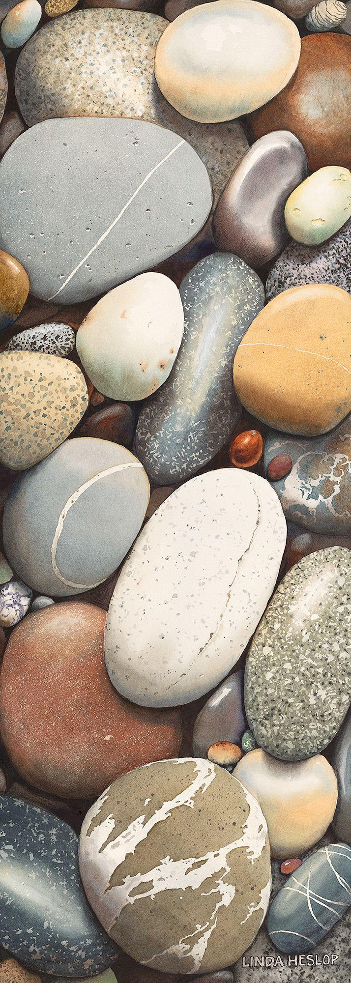 Linda Heslop - gorgeous rock texture