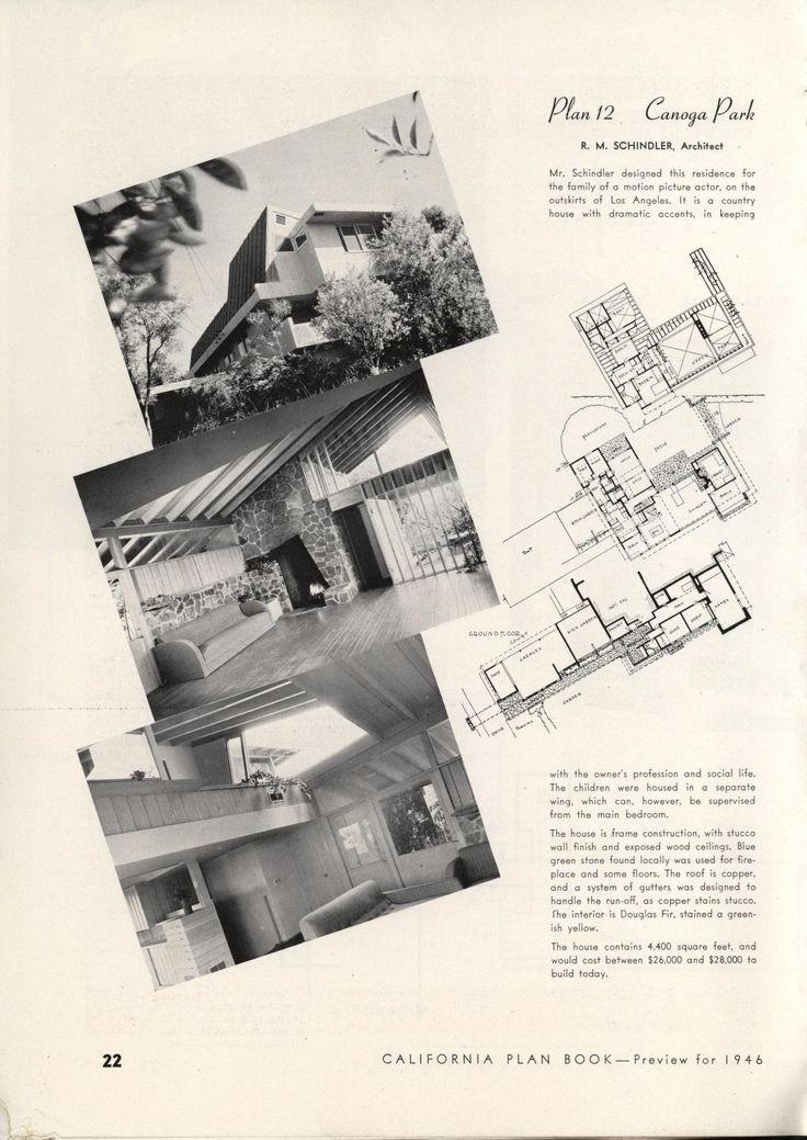 347 best VinTagE HOUSE PlanS~1940s images on Pinterest | Vintage ...